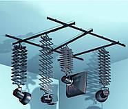 Підвісна рейкова система з пантографами Falcon B-3030C, рейки 4 шт + 4 пантографа, фото 2