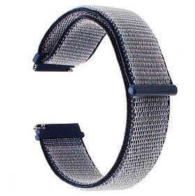 Нейлоновий ремінець для годинника Samsung Galaxy Watch 3 45mm (SM-R840) - Navi Blue