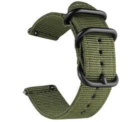Нейлоновий ремінець Primo Traveller для годин Samsung Galaxy Watch 3 45mm (SM-R840) - Army Green