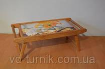 Переносной деревянный столик