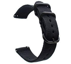 Нейлоновий ремінець Primo Traveller для годин Samsung Galaxy Watch 3 45mm (SM-R840) - Black