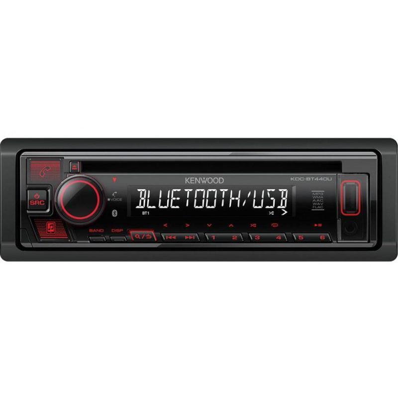 MP3-магнитола Kenwood KDC-BT440U