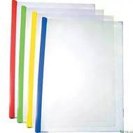 Папка скоросшиватель с планкой (2-65 листов A5) .Economix