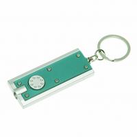 Брелок-фонарик зеленый