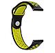 Ремешок BeWatch силиконовый 20мм для  Samsung Galaxy Watch Active   Active 2 40mm Черно - желтый(1010122), фото 3
