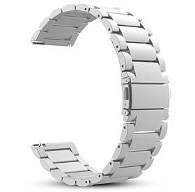 Металевий ремінець Primo для годин Samsung Galaxy Watch 3 45mm (SM-R840) - Silver