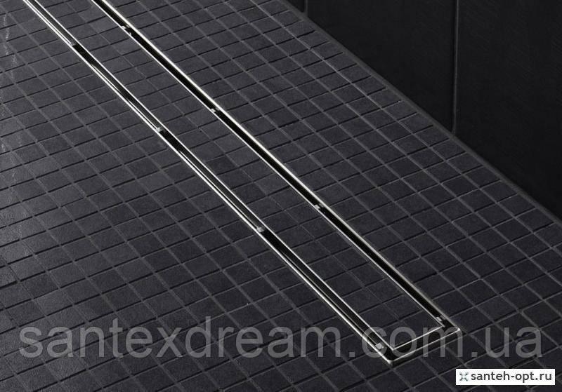 Душевой канал TECE Linus 800 мм, с решеткой Straight, 15100080