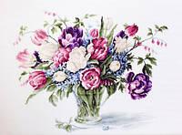 """Набор для вышивания крестом """"Luca-s""""  B2261 Тюльпаны"""