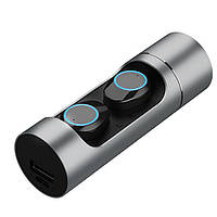 Наушники Беспроводные вкладыши Wireless Earbuds K08 Plus Мини-гарнитура Bluetooth 5.0 в тубе + LED индикатор заряда + Павербанк 1000 мАч + Фонарик