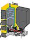 Пеллетный котел для дома Kronas Combi 42 кВт с автоматической подачи топлива и блоком управлением, фото 3