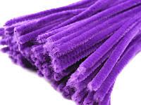 Синель пушистая фиолет