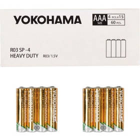 Батарейка YOKOHAMA R-03 SP-4 AAА 60 штук