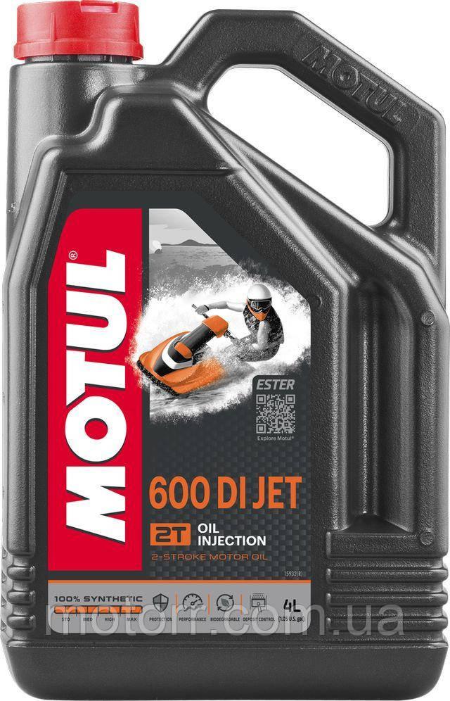 Моторне масло для гідроциклів Motul 600 DI JET 2T (4L)