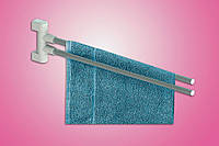 Вешалка для полотенец 2-х рожковая