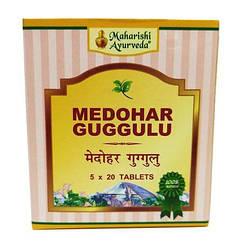 Аюрведические таблетки для похудения Медохар Гуггул (Medohar Guggulu, Maharishi Ayurveda), 100 таблеток