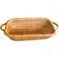 Плетеная посуда. Поднос (35х20х8 см)