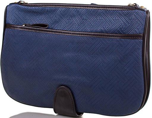 Синий женский кожаный клатч ETERNO, ET15097-1