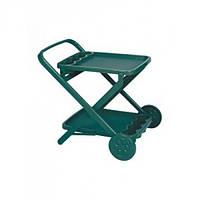 Столик-тележка EVO зеленый