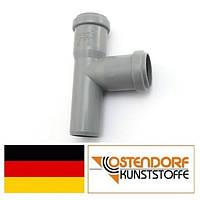 Тройник PP 32/32х87 внутренней канализации Ostendorf HT Германия