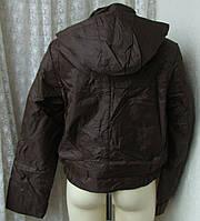 Куртка женская теплая демисезонная капюшон р.44 3887, фото 1