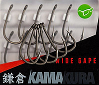 Карповые крючки Korda Kamakura Wide Gape Size 6