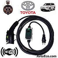 Зарядное устройство для электромобиля Toyota RAV4 EV AutoEco J1772-16A-Wi-Fi