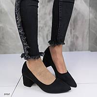 Женские туфли лодочки на удобном каблуке, фото 1