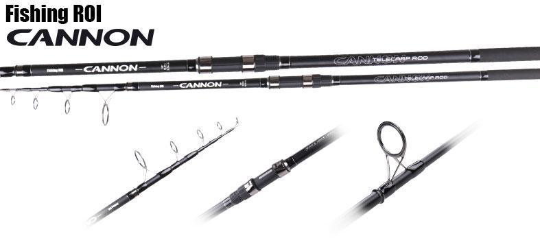 Карповое удилище tele Carp CANNON FR 4,2m 3,5LBS
