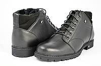Мужские ботинки mida 14904ч черные   зимние , фото 1