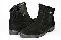 Мужские ботинки faro 450-5 черные   зимние