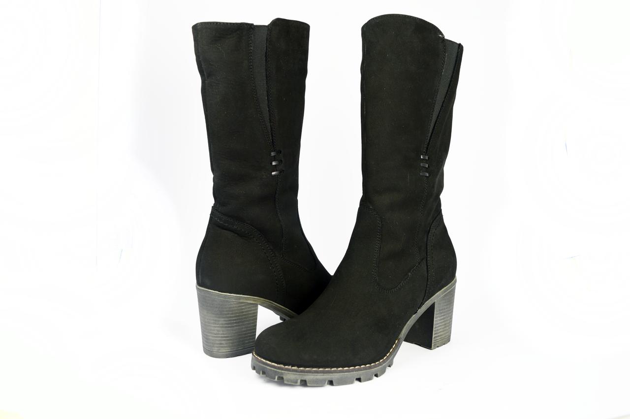 06e7e441 Женские сапоги mida 24401нуб.ч черные зимние - Магазин обуви
