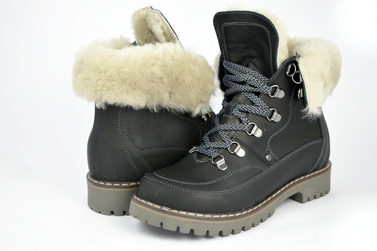c3d2e1f17 Женские ботинки mida 24414крз.ч зимние - Магазин обуви