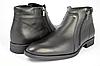 Мужские ботинки mida 14765ч   зимние