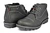 Мужские спортивные ботинки mida 14657нуб.ч черные   зимние