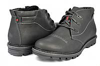 Мужские спортивные ботинки mida 14657нуб.ч черные   зимние , фото 1