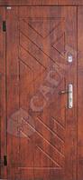 Дверь входная Саган 850х2030;950х2030 мм металл-МДФ №12