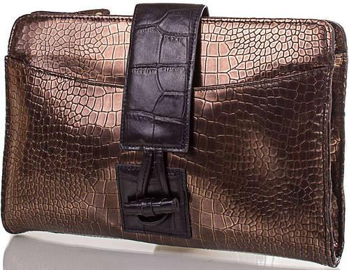 Ошеломляющий женский кожаный клатч ETERNO (ЭТЕРНО), ET15067-1
