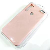 Чохол для Xiaomi Redmi Note 8 матовий Silicone Case Full Cover Macarons Color