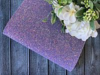 Екокожа «Цукерочка» 20 х 34 см, 10 аркушів/уп., фіолетового кольору, фото 1
