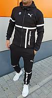 Мужской спортивный костюм ВМW, PUMA  № 851 спортивный костюм теплый, фото 1