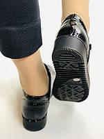 Зручні жіночі осінні туфлі. Натуральна лакована шкіра. Mamamia. Туреччина. 36-40 Vellena, фото 7