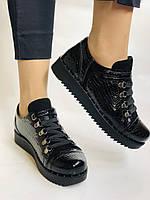 Зручні жіночі осінні туфлі. Натуральна лакована шкіра. Mamamia. Туреччина. 36-40 Vellena, фото 2