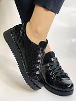 Зручні жіночі осінні туфлі. Натуральна лакована шкіра. Mamamia. Туреччина. 36-40 Vellena, фото 3
