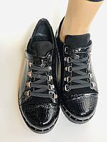 Зручні жіночі осінні туфлі. Натуральна лакована шкіра. Mamamia. Туреччина. 36-40 Vellena, фото 9