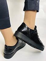 Зручні жіночі осінні туфлі. Натуральна лакована шкіра. Mamamia. Туреччина. 36-40 Vellena, фото 5