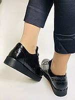 Зручні жіночі осінні туфлі. Натуральна лакована шкіра. Mamamia. Туреччина. 36-40 Vellena, фото 8