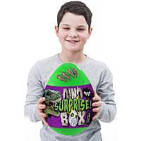 Игрушка Яйцо - шкатулка сюрприз большое для мальчика Дино, набор для творчества, игр и развития