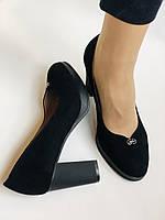 Жіночі модельні туфлі-човники високої якості.Polann. Натуральна замша. Супер комфорт. 35 39 40, фото 10
