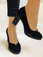 Жіночі модельні туфлі-човники високої якості.Polann. Натуральна замша. Супер комфорт. 35 39 40, фото 5
