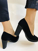 Жіночі модельні туфлі-човники високої якості.Polann. Натуральна замша. Супер комфорт. 35 39 40, фото 7